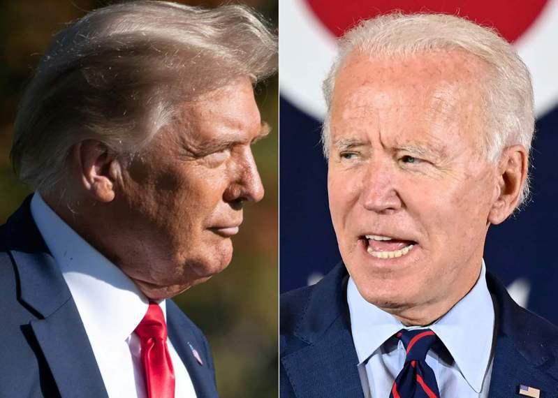美國總統大選離投票日只剩半個月,多家民調顯示,代表民主黨出征的前副總統拜登全美支持度保持雙位數領先。 法新社