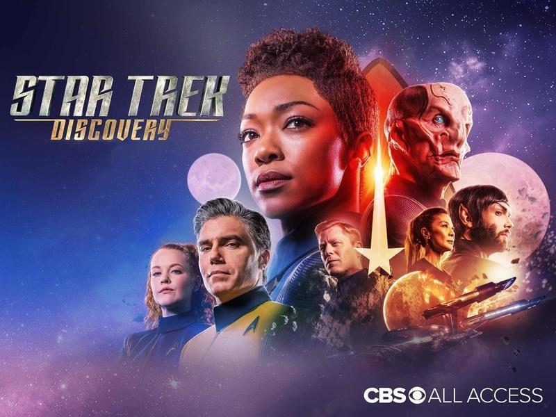 科幻大作《星際爭霸戰:發現號》成為美國史上第一個全部後製都遠端完成的節目。(Ph