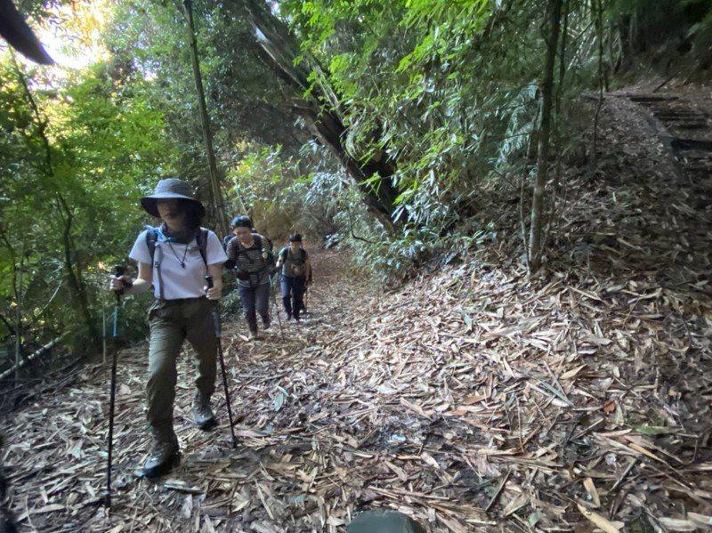 游小姐與朋友用安心旅遊券赴南投住宿,翌日爬水社大山。記者吳佩玲/攝影