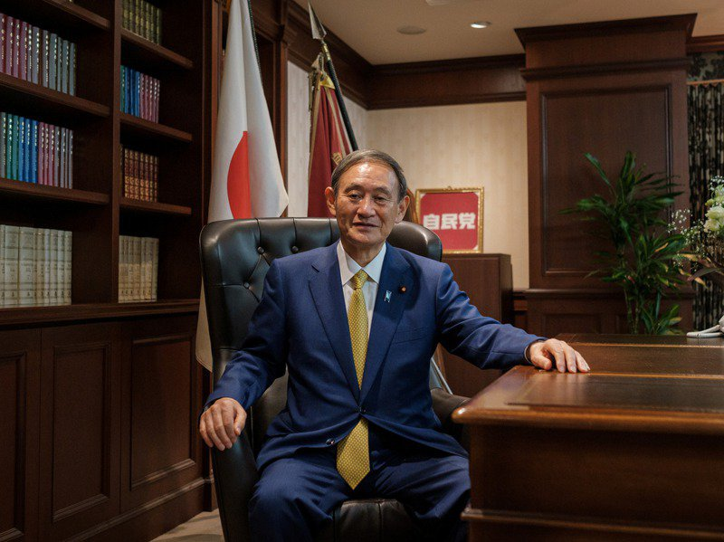 日本首相菅義偉打算利用這次疫情推動數位化改革。路透