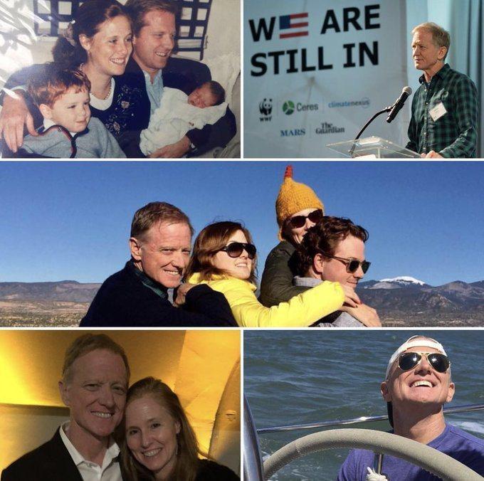 詹姆斯的妻子凱莉分享他生前和家人們的照片,悼念他的離世。圖/摘自twitter