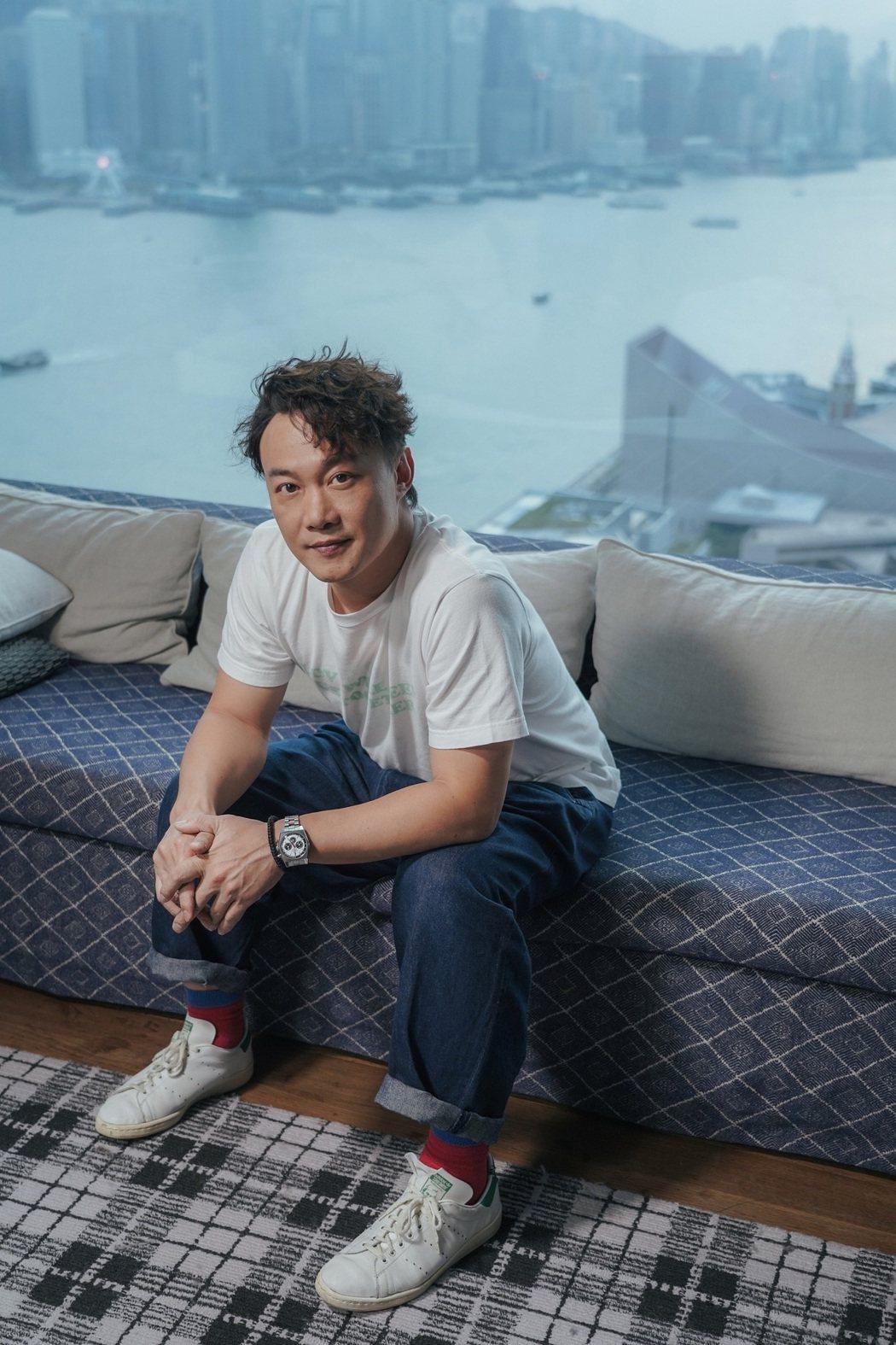 陳奕迅推出全新粵語單曲「致明日的舞」。圖/環球音樂提供