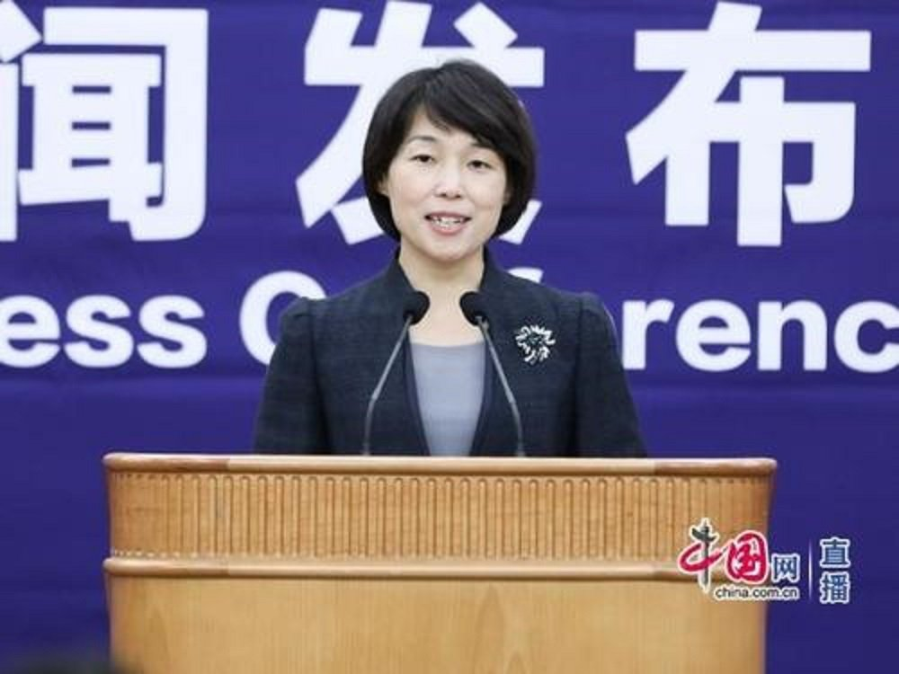 大陸國家發改委新聞發言人孟瑋。圖/中國網直播