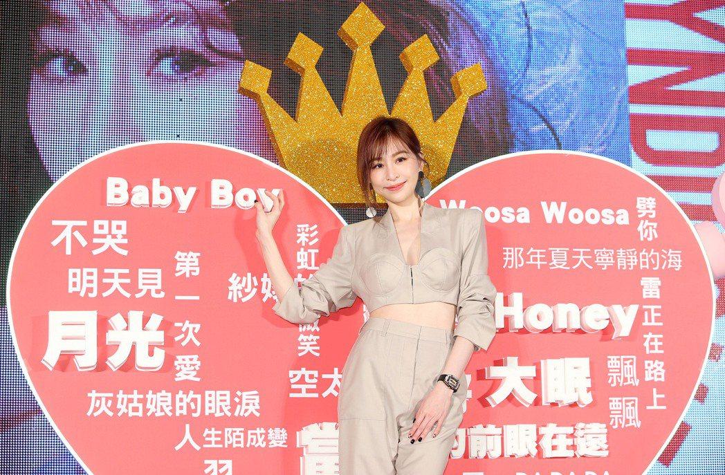 王心凌將在明年1月2日攻上台北小巨蛋開唱。記者余承翰/攝影
