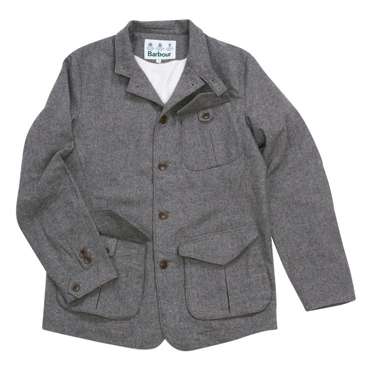 Barbour White Lable系列羊毛外套15,800元。圖/Barbo...