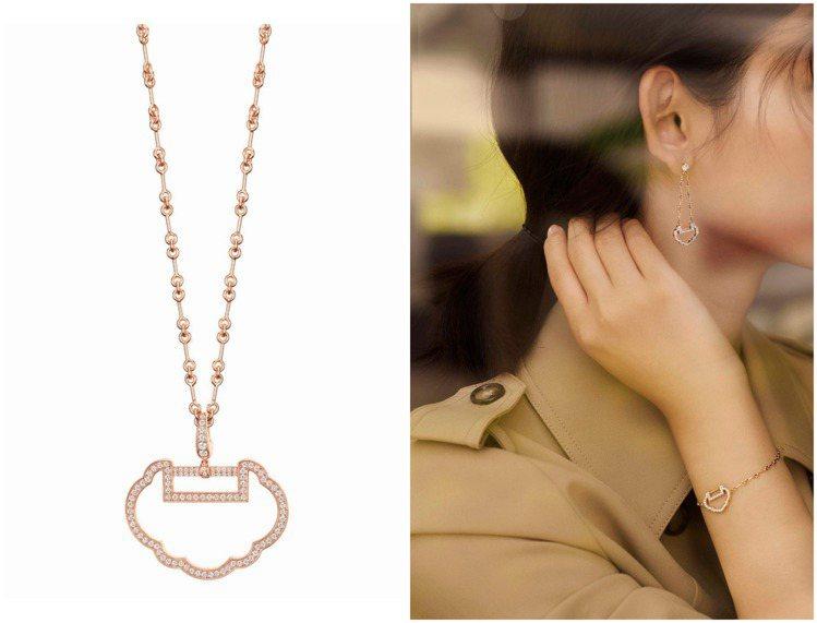 過往多次使用瑪瑙、貴重寶石、珍珠母貝的Qeelin Yu Yi系列,這回大膽使用...