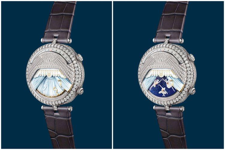 Lady Arpels Ballerine Musicale Diamant腕表...