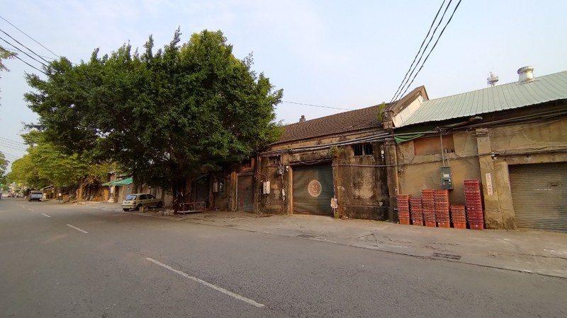 台中車站新民街倉庫群被指定國漫館預定地之一。圖/中市新聞局提供
