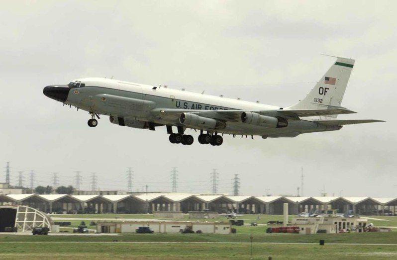 RC-135W電偵機。路透