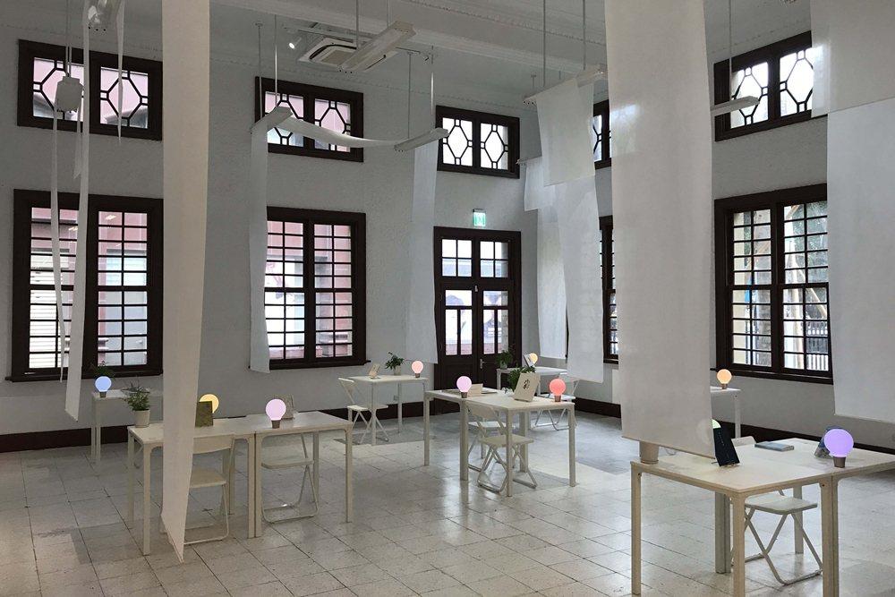綜觀日治時期日人在台興建的三座獨棟公共圖書館,新竹州圖堪稱碩果僅存,至今仍保留最完整的建築原貌。 圖/作者自攝