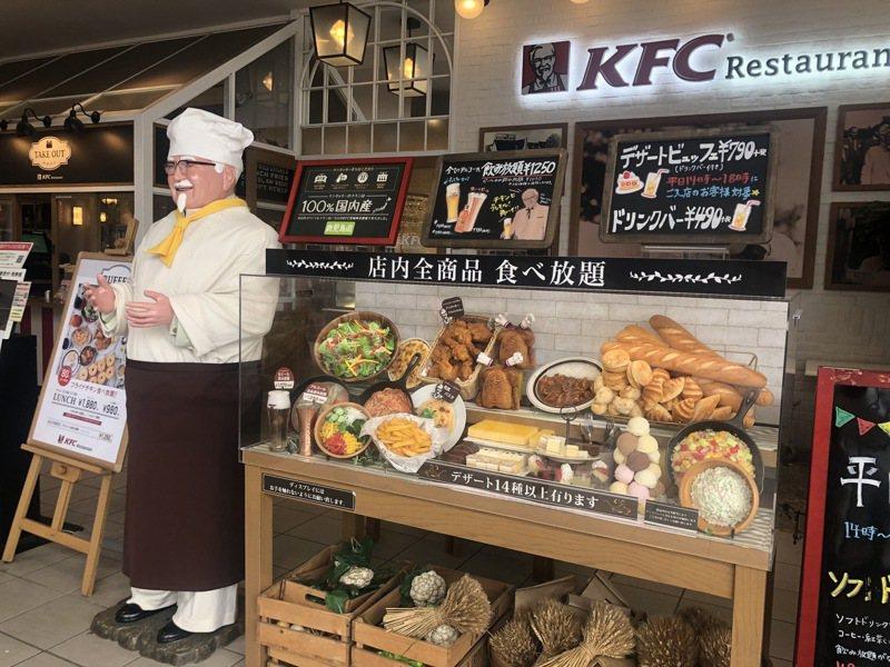 有網友好奇若肯德基轉型成「炸雞吃到飽」449元加一成服務費,是否就能夠贏過麥當勞,引起網熱烈討論。圖/讀者提供