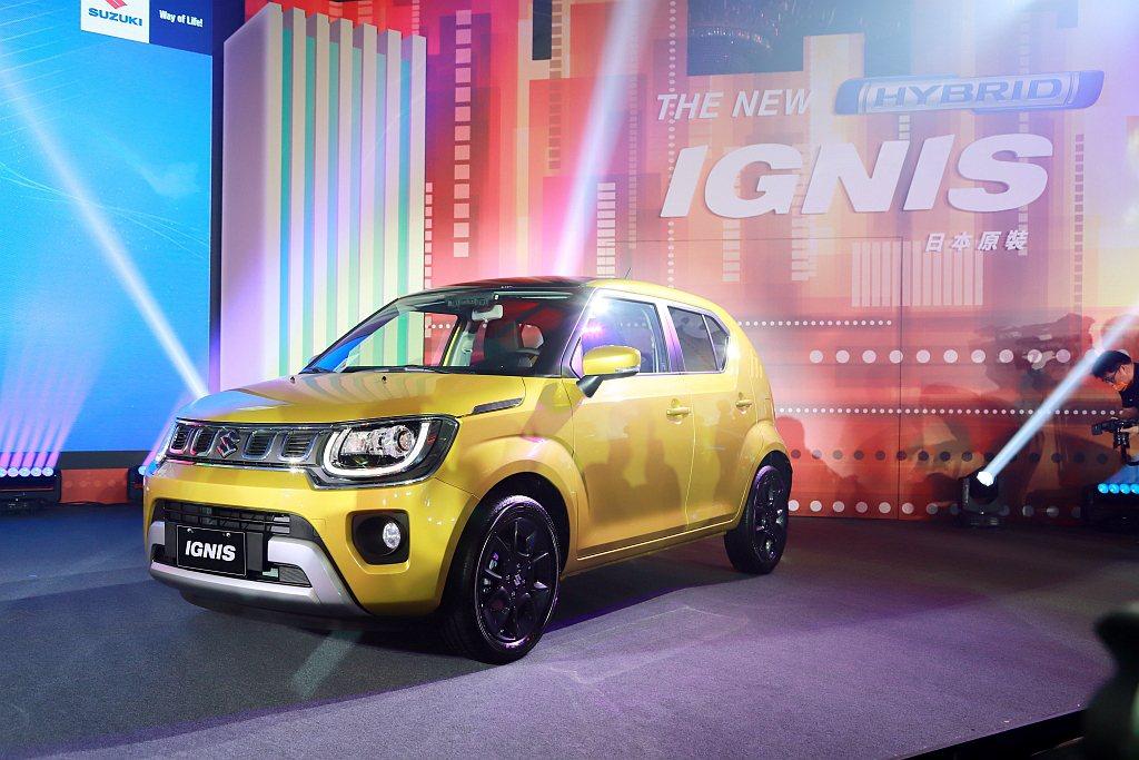 小改款Suzuki Ignis正式在台灣發表上市。 記者張振群/攝影
