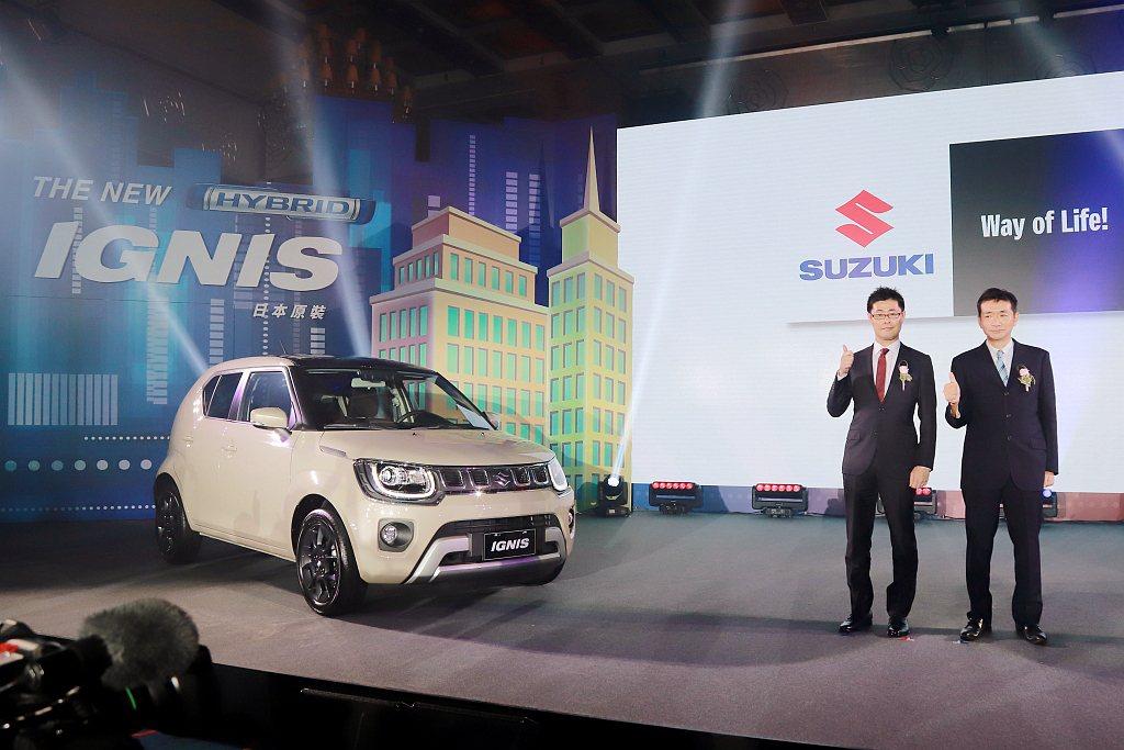 小改款Suzuki Ignis採單一車型導入台灣市場,建議售價為台幣68萬起。 ...