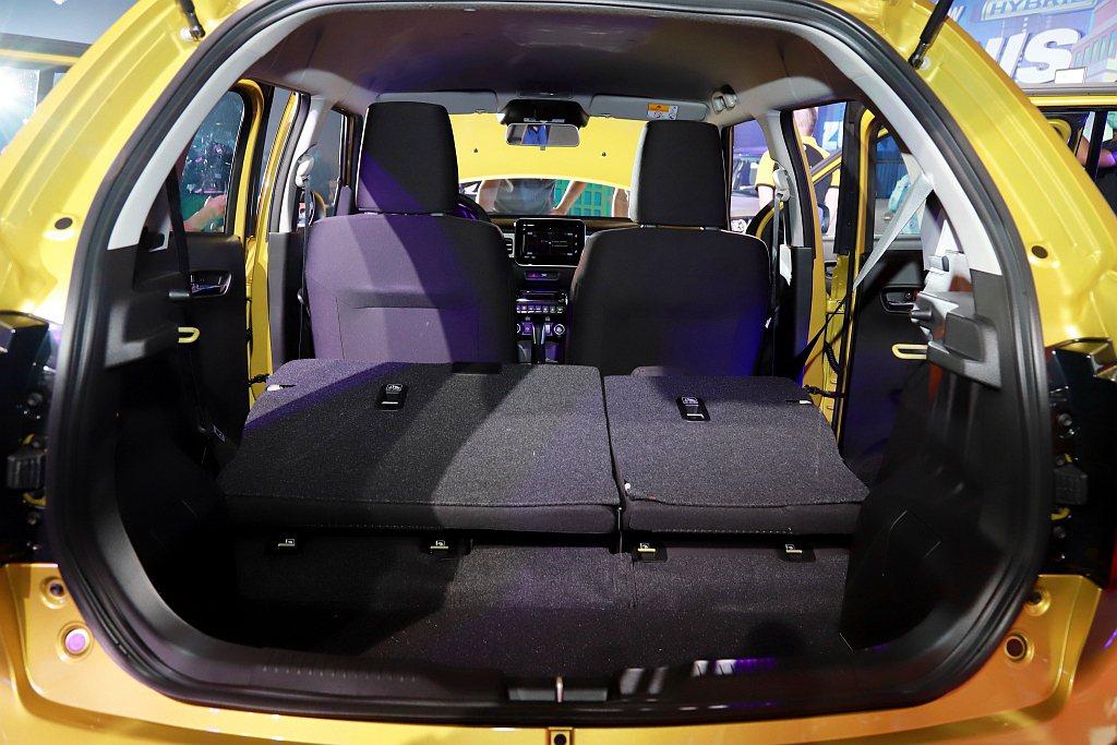 座椅採取6/4分離式設計,可依使用需求創造最大501L後廂置物空間。 記者張振群...