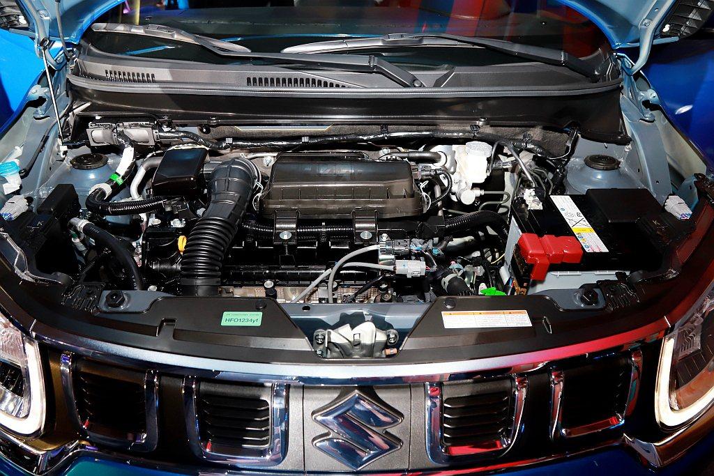 小改款Suzuki Ignis引擎改搭載排氣量1,197c.c.直列四缸DUAL...