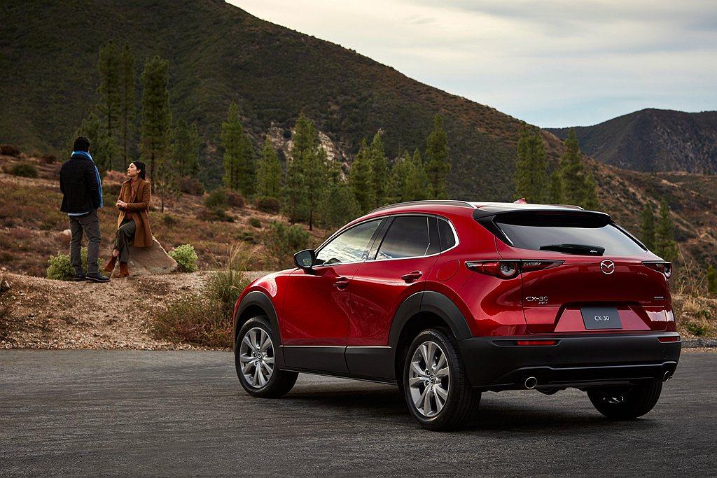 Mazda CX-30於北美市場的表現持續增強並成為品牌第二熱銷車款。 圖/Ma...