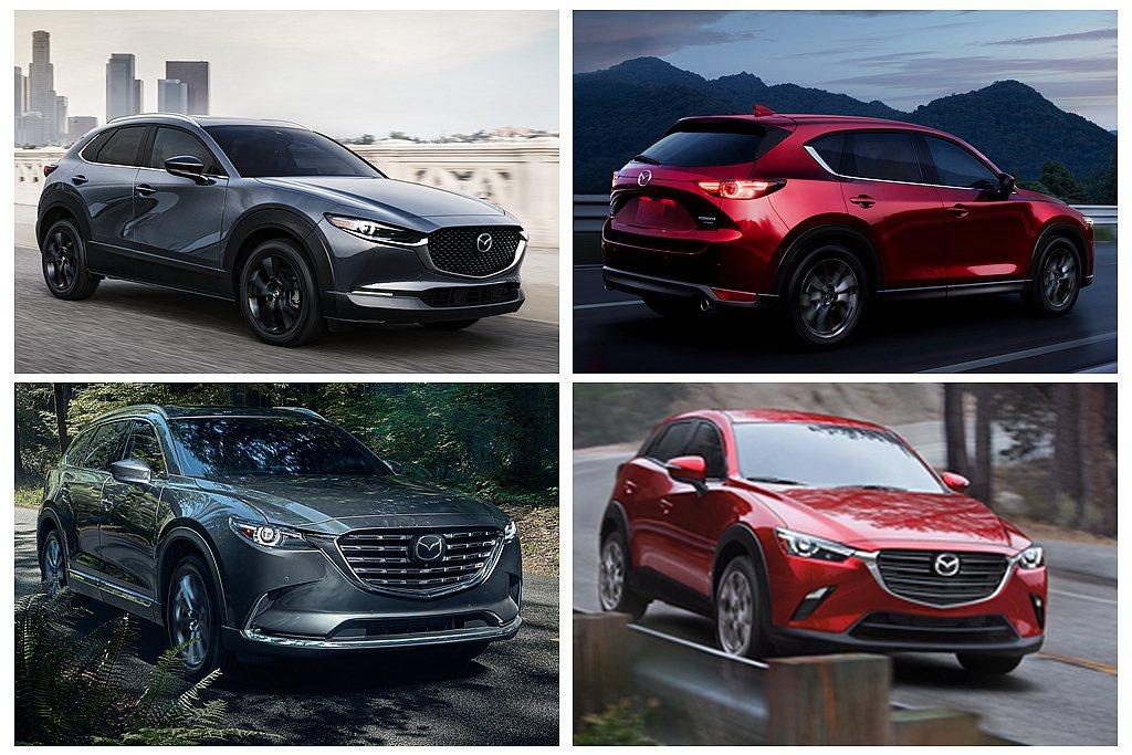 將Mazda SUV陣容於北美市場銷售總加起來達159,494輛,相比去年同期更...