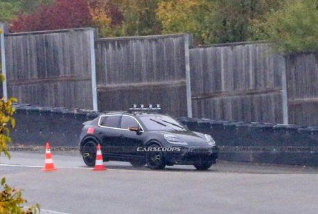 Porsche Macan Coupe出現了 而且還是電動版本!