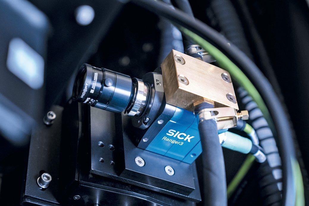 SICK Ranger 3超高速線上檢測3D相機。 SICK西克/提供