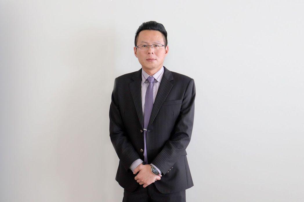 南晃集團董事長鄭丞焜對未來營運充滿信心。 莊玉隆/攝影