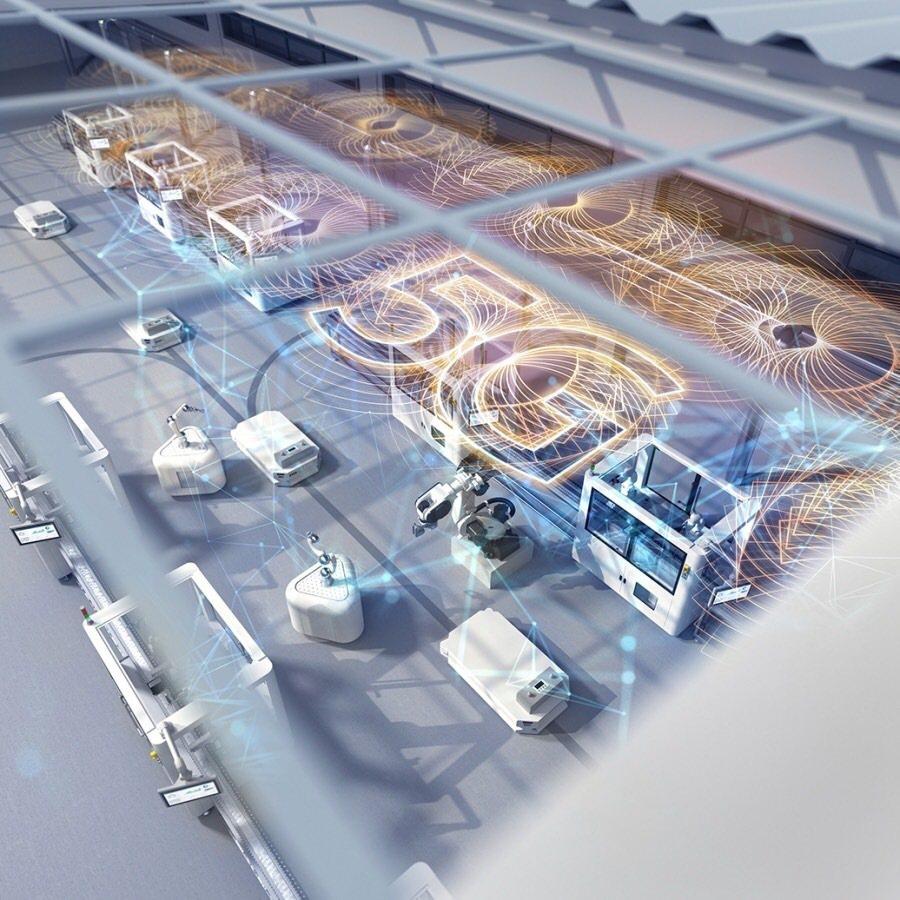 三隆齒輪與西門子攜手合作導入「5G智慧齒輪生產線」示意圖。 三隆齒輪/提供