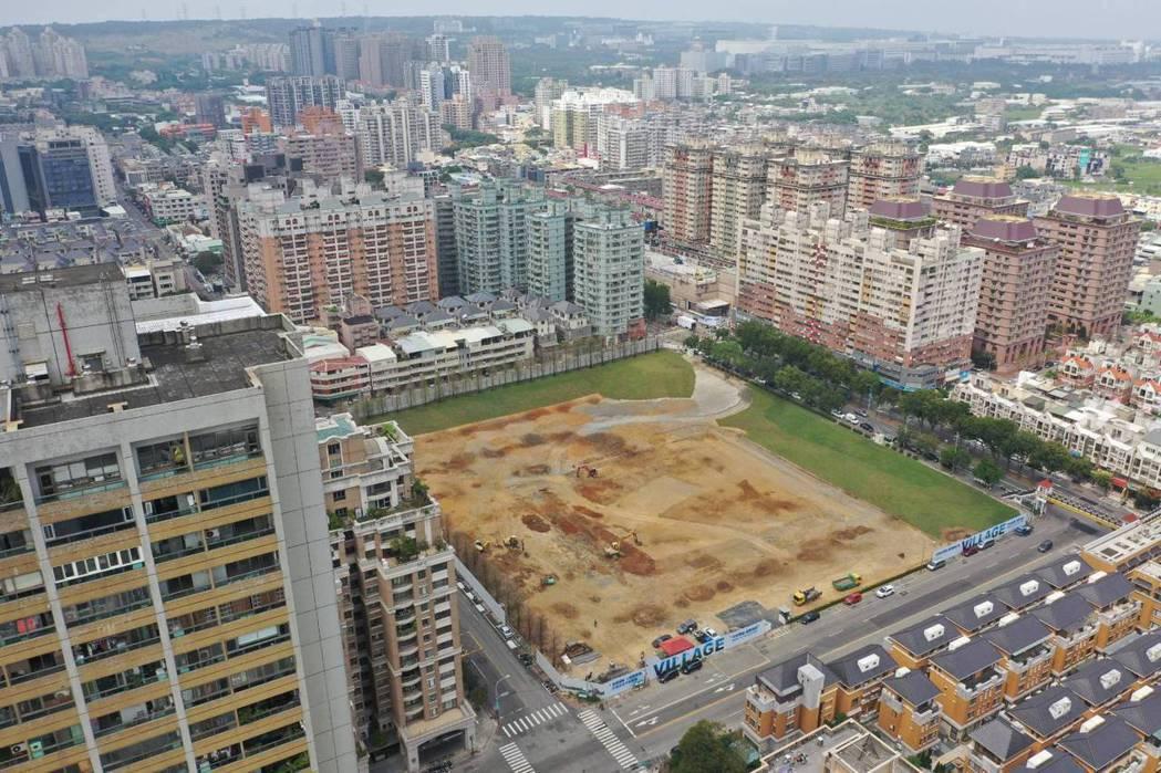 寶輝建設近8,000坪精華大型腹地,中科華麗銳變。 業者/提供