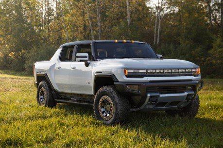 悍馬重返車壇! GM發表全新純電皮卡Hummer EV!