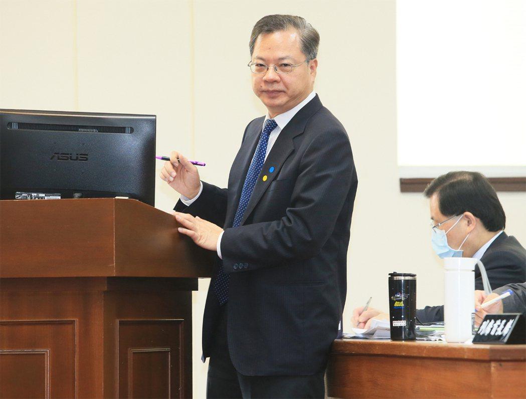 國發會主委龔明鑫。聯合報系資料照