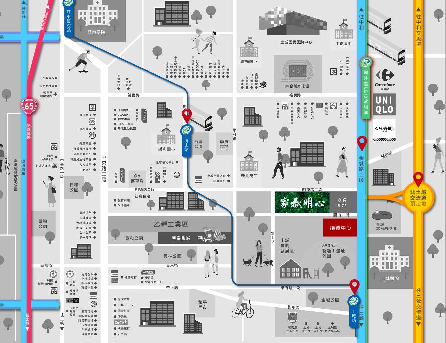 捷運雙線加持,價值翻倍,家泰明心鄰近捷運板南線與萬大線,步行即達。 業者/提供