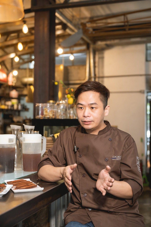 可可德歐巧克力工匠闕國祥,立志讓每一個嚐過可可德歐巧克力的朋友都能體會到在地的蘭...