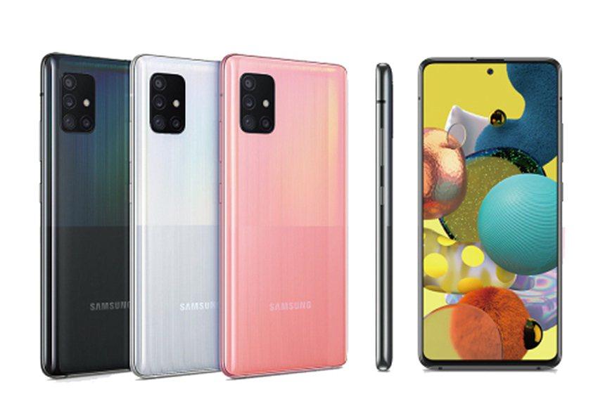 綁定抽大獎Samsung Galaxy A51 5G。 新光三越桃園大有店/提供