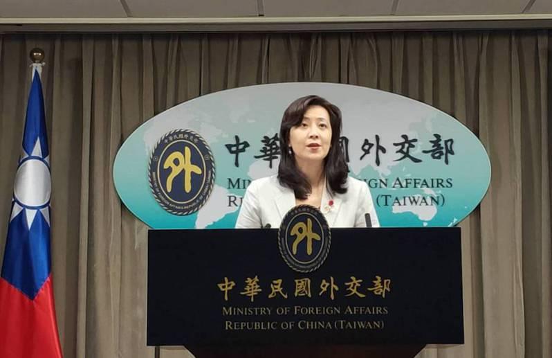 外交部發言人歐江安。 聯合報系資料照/記者徐偉真攝影