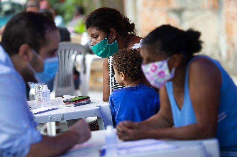 巴西新冠肺炎疫情依然嚴重。 美聯社