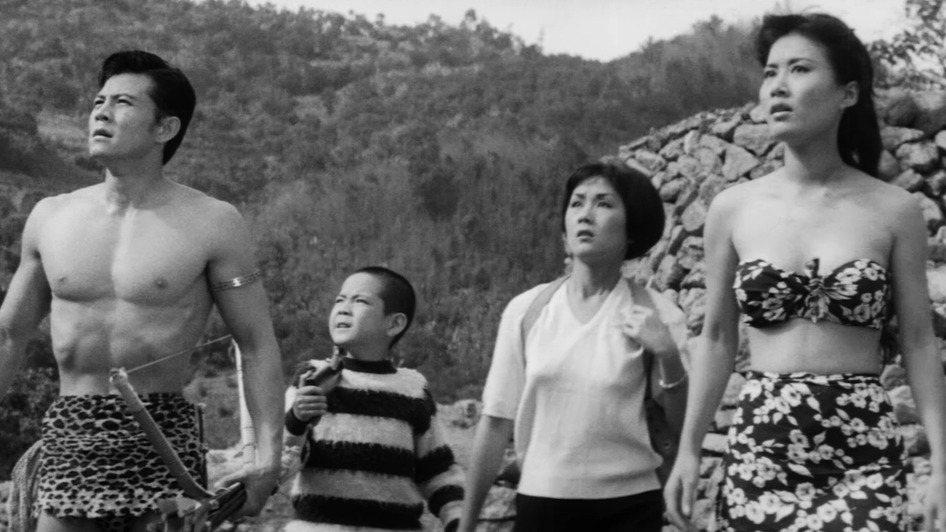 「泰山寶藏」劇照。圖/國家電影中心提供