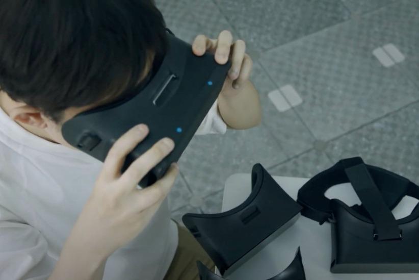 Sony以Xperia品牌打造VR頭戴裝置原形設計