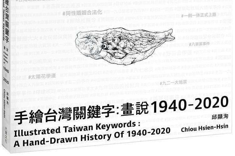 【青鳥居所】以圖像紀錄台灣歷史:手繪台灣關鍵字 畫說1940-2020 | 閱讀專題 | 閱讀