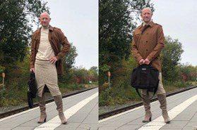 直男工程師每天「短裙高跟鞋上班」引熱議 Mark Bryan:我喜歡這樣穿不需要其他理由