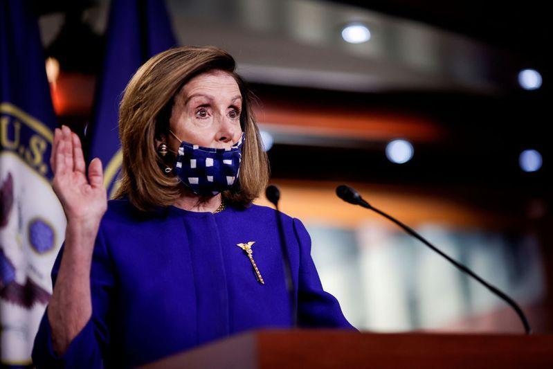 眾議院議長裴洛西周二表示,她希望本周末前能就新冠紓困方案達成協議。路透