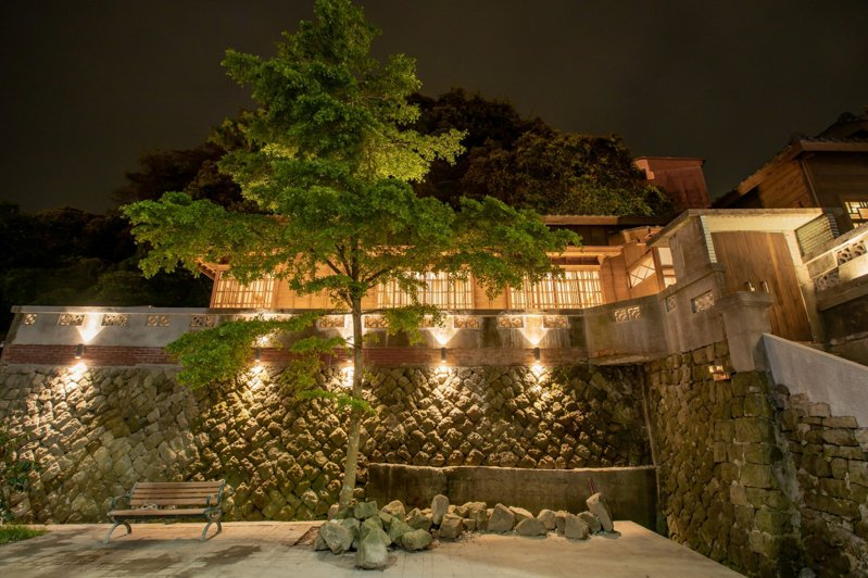基隆沙灣2古蹟星夜將開放,夜間限定民眾參觀風華再現。圖/基隆市政府提供