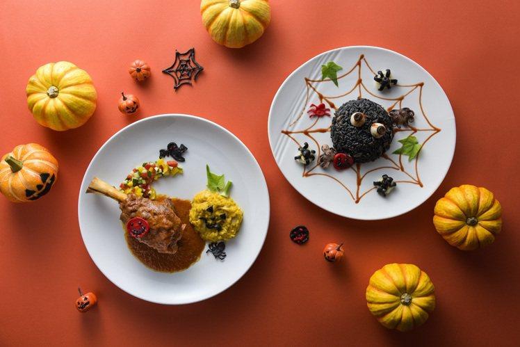HOTEL COZZI和逸飯店高雄中山館主廚特製義式料理 ,變身萌系萬聖限量餐點...