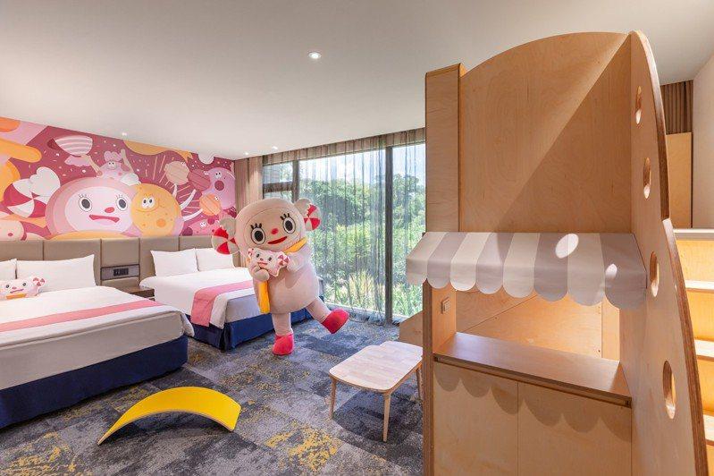 煙波新竹湖濱館擁有2300坪的豐富室內育樂空間。圖/煙波國際觀光集團提供