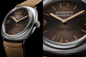 20年好兄弟!PANERAI推社群主題Radiomir Venti腕表