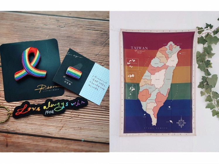 Littdlework彩虹福袋,售價1,530元。圖/Pinoki提供