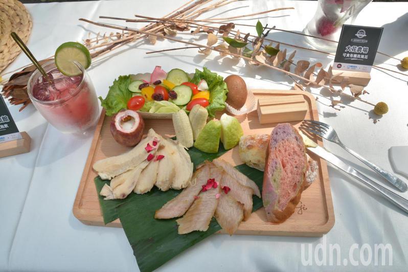 屏東縣政府推出第二屆屏東縣早午餐生活節,食材選用在地小農、產銷履歷。記者劉星君/攝影