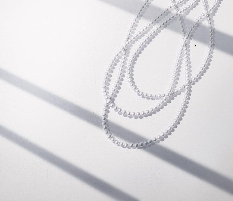 TASAKI經典珍珠串鍊,價格店洽。圖/TASAKI提供