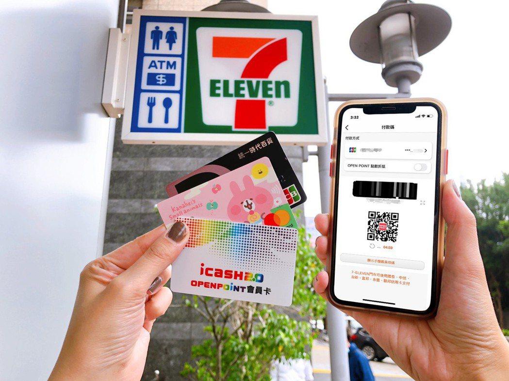 7-ELEVEN電子支付使用人次突破2.7億,較去年同期成長超過10%,交易總金...