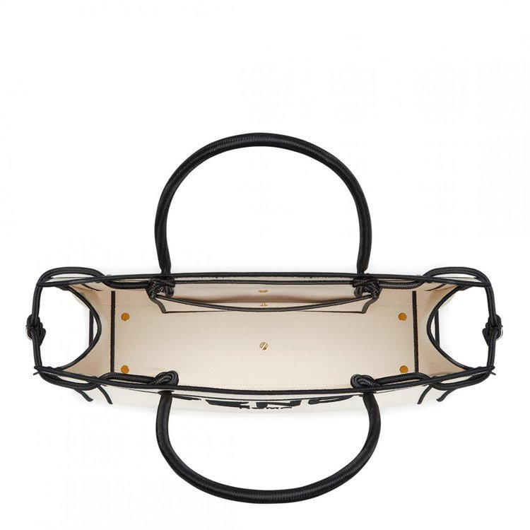 FENDI Roma Shopper白色包款內部示意圖,68,000元。圖/FE...