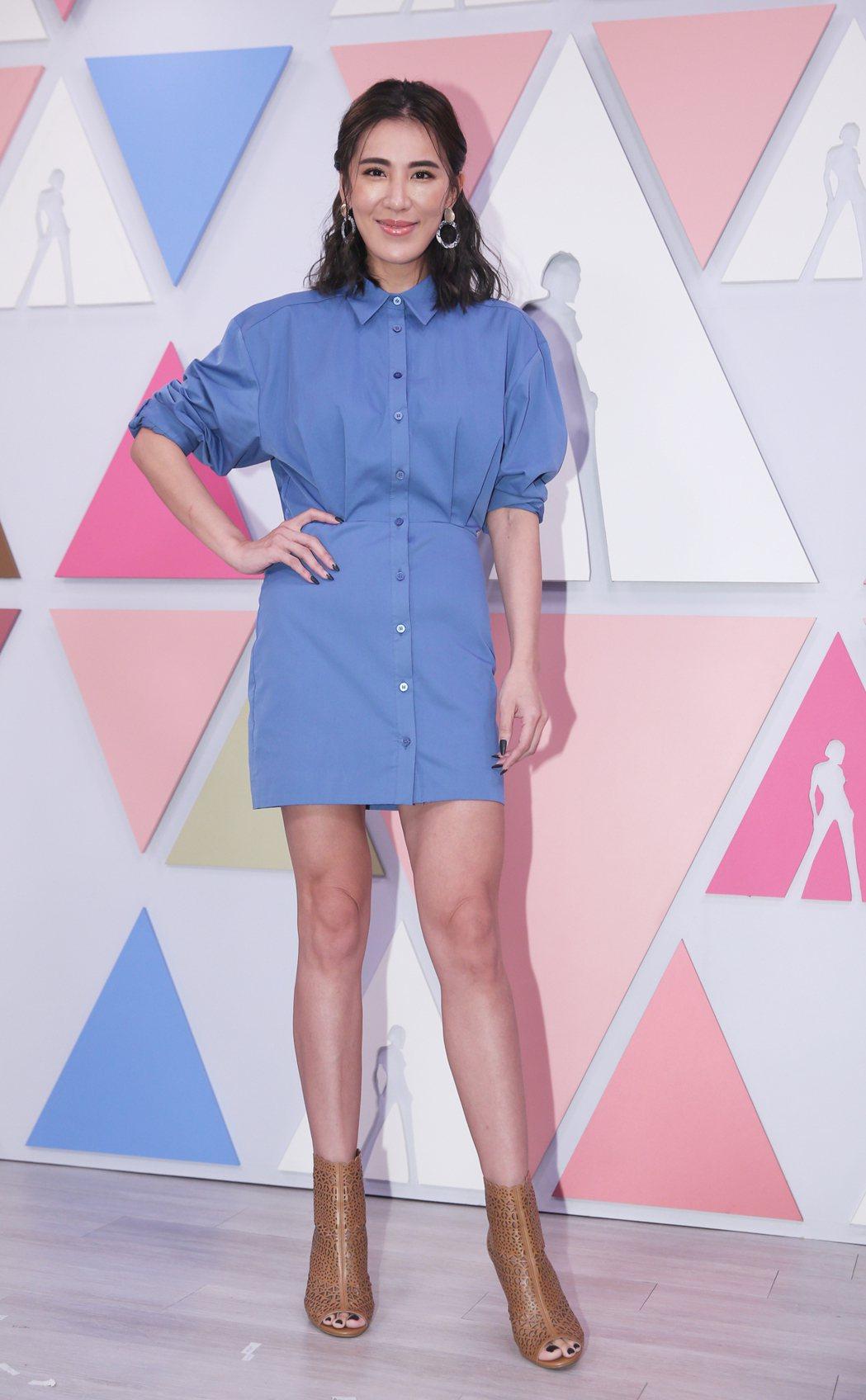 小禎主持愛爾達新節目「姊妹讚起來」。記者陳正興/攝影