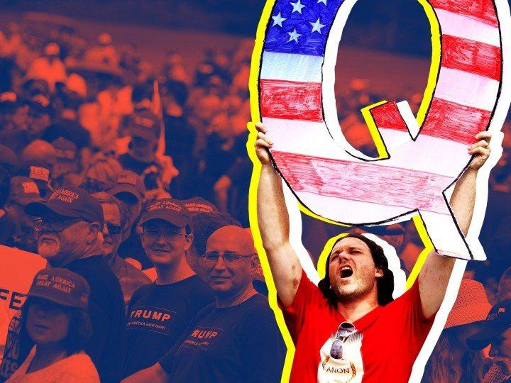 近幾個月來,被稱為「匿名者Q」(QAnon)的陰謀論團體越來越受到大眾注意,逐漸成為美國大選的熱門話題。路透
