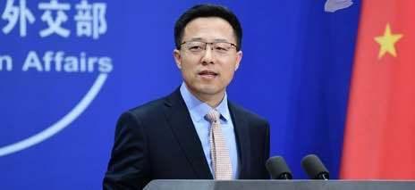 中共外交部發言人趙立堅。圖/取自中共外交部網站